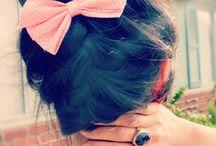 hair styles / by Marcella Greene