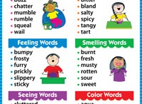 School Stuff - Word Lists / by Krista Liepina