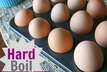perfect Hard boiled eggs / by Ricia Brown