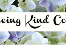Being Kind Counts / Join our Kindness Challenge. Our goal is to encourage others to be kind... you can join at anytime.. Kindness doesn't have a due date.  Look for the hashtags ‪#‎beingkindcounts‬ and ‪#‎inspiredBN‬ http://beingkindcounts.com/what-is-a-kindness-captain  Welcome email https://madmimi.com/p/b58b35 / by Amee