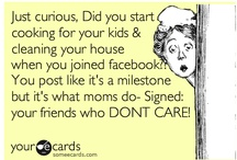 facebook... / - it's like family drama - we don't want to visit & get sucked in, but we do - / by {daphne} flip flops pearls & wine