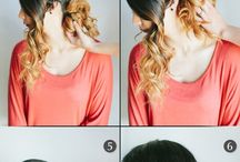 ideas for hair / by Jessica Ortega