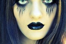 scary makeup/beauty / by Emily Belair