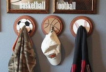 Boys Sports Room / by Jessie Leopold