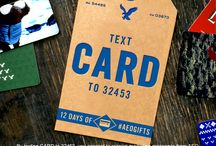 12 Days of #AEOGIFTS / On the third day of #AEOGIFTS, AEO gave to me...a $250 AEO Gift Card. Text CARD to 32453 for your chance to win and be sure to check out tomorrows keyword and prize on Twitter. Official Rules: on.ae.com/AEOgifts / by American Eagle Outfitters