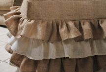 Burlap projects / by Holly Rice