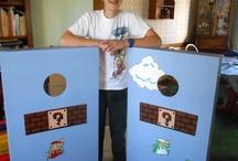 Cornhole Design Inspiration / Painting ideas for my DIY cornhole set, featured on Boston.com:  / by Melissa Massello