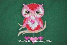 Embroidery Designs I Tested / by Alisha Schultze (Crafty Brooklyn Army Wife)