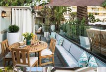 Bungalow One By Robb Report / Los Angeles based Interior Designer, Michael Berman, teamed with Robb Report Home & Style to transform a formal hotel suite into an escape with understated luxury. / by Bevolo
