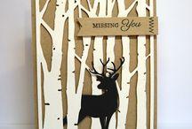 Die cut deer / by Joyce Sasse