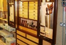 WoodworkingTool cabinets / by Aaron V