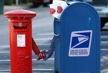 Mailboxes / by Tez Riggins Clear