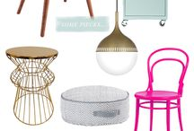 For the Home / DIY, furniture and knick knacks to decorate the home. Along with helpful advice on how to fix up the home. / by Blair Kalinski