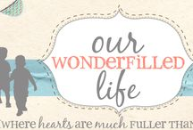 Our Wonder*Filled Life / photos, projects, and tutorials from our blog / by Michelle{ourwonderfilledlife}