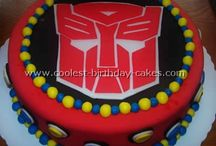 Transformers Birthday Theme / by Leilani Miller Learn