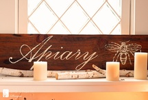 Signs and Typography / by Lori Z. @ mudpiestudio.blogspot.com