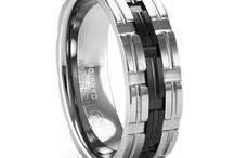 Men's wedding rings / by Kim Bright