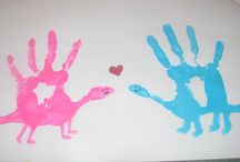 There They Grow / Hand and Foot Print Art...... Kiddie Birthday traditions...... preserving memories....... / by Pin Hoarder