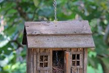 Birdhouses and the bees skeps / by Kim Maria Lodato  ˛ • ° ˛˚˛ *•。★˚ ˚