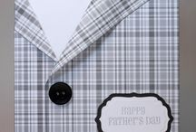 Cards - Masculine and Father's Day / by Kate Wood