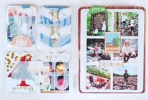 Life Pages Inspiration / Inspiration from the design team using our Life Pages kit.  / by Gossamer Blue