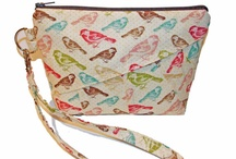 Wristlet, Pouch, Purses  handmade / by TeePetals Designs