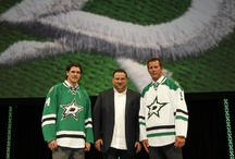 A New Star Is Rising / The Dallas Stars unveil their new logo and uniform in front of a packed house at the AT&T Performing Arts Center.  / by Dallas Stars