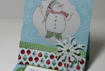 Cards Christmas Snowmen / by Soni Larson