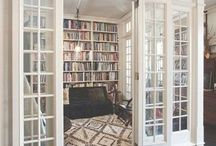 Library / Ideas for the library room I wanna have someday :)  / by Heather Aune