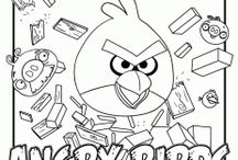 Angry Birds Theme / by {1plus1plus1} Carisa