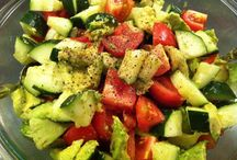 Salads & Salsas / by Nicki Rippeteau