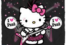 rock hello kitty / by Corinne Moroney