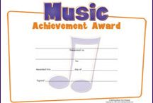 Music Awards / Music Trophies and Free Printable Award Certificates / by MakingMusicFun.net | Elementary Music Education