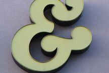 the awesome ampersand / by Michelle Cormack