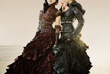 Steampunk Dresses | steampunkdistrict.com / by SteampunkDistrict.com }
