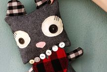 I want to learn to sew/crochet so I can make...... / by Courtney Scott