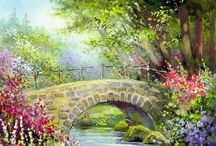 old stone bridges / by marie logan