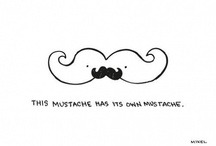 """I """"MUSTACHE"""" you a Question! / by Carmen Moore"""