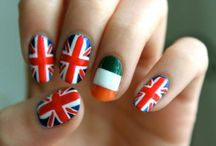 1D nails / Nails that u will love and r one direction themed / by Maddie Horan