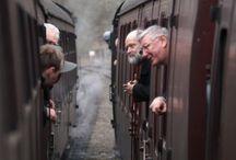 trains / by Susan Bellarosa