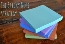 Mama CEO :: Sticky Note Empire / by Megan Flatt
