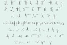 Pretty Penmanship  / by Susanna Hopler