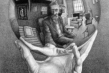 Escher / by Victor Gonzalez Canito