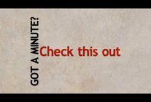 Got A Minute? / Short clips of teachings from Joyce. / by Joyce Meyer Ministries