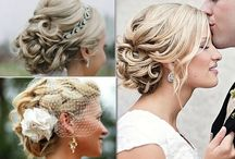 wedding hair/makeup / by Grace Peterson
