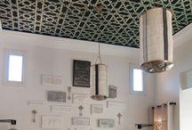 Home: Wallpaper, fabric, stencil, textiles / by Lauren V