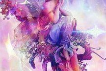 ángeles y haditas / by Andrea Galeano