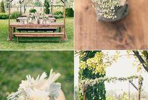 Decoração de casamento estilo mini wedding / by VANESSA ELISA JACOB FERREIRA