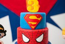 Birthday parties: Superhero theme / by CardTimes