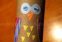 School- Owls / by Mandy Mc